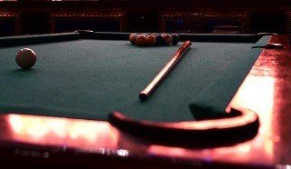 Professional pool table setup in Albany content img2